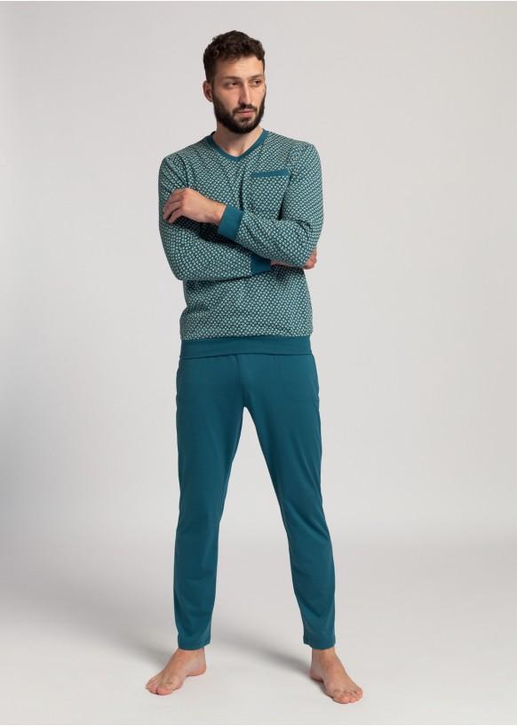 Men Pyjamas Peacock Organic Cotton