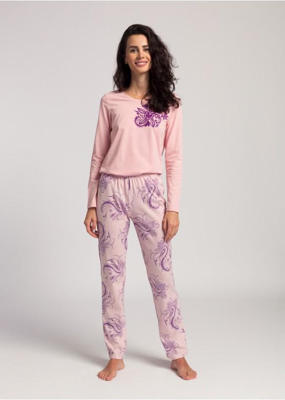 Women pyjamas Pink Stripes